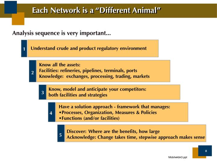 "Each Network is a ""Different Animal"""