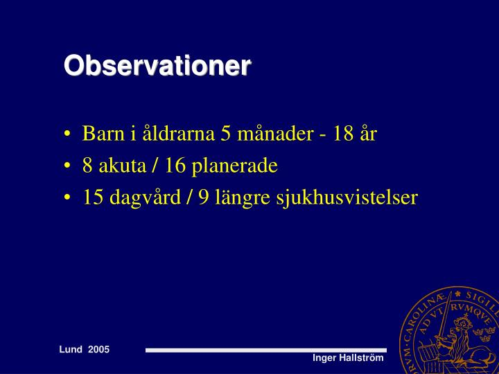 Observationer