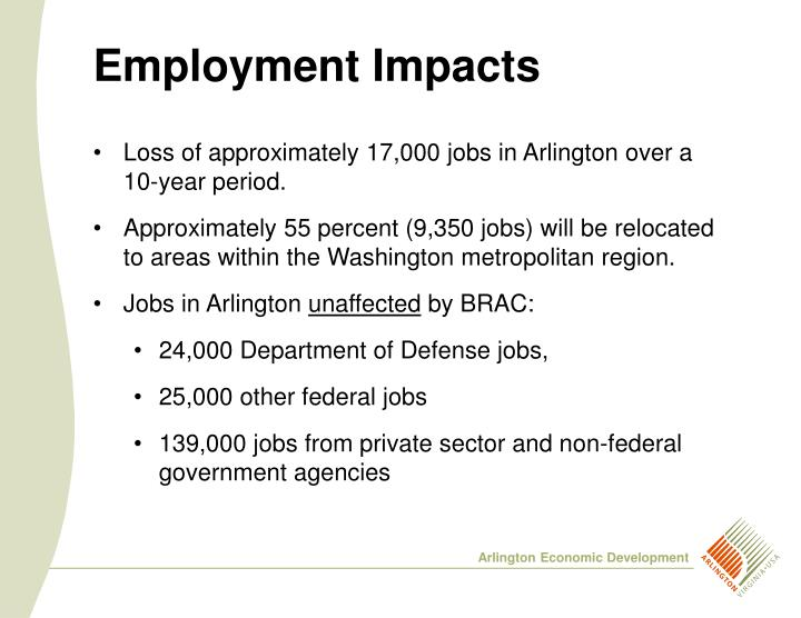 Employment Impacts