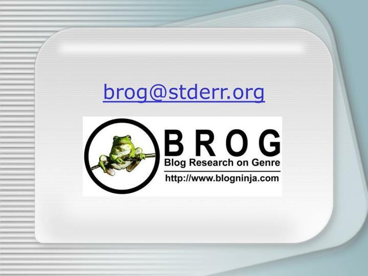 brog@stderr.org