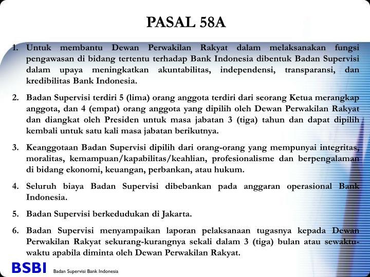 PASAL 58A