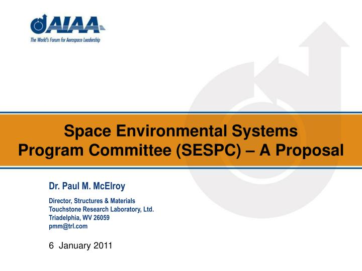 Space Environmental Systems