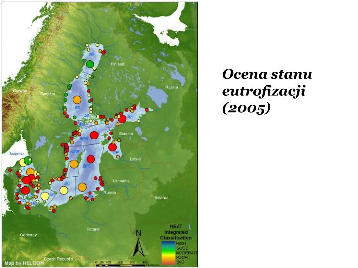 Ocena stanu eutrofizacji  (2005)