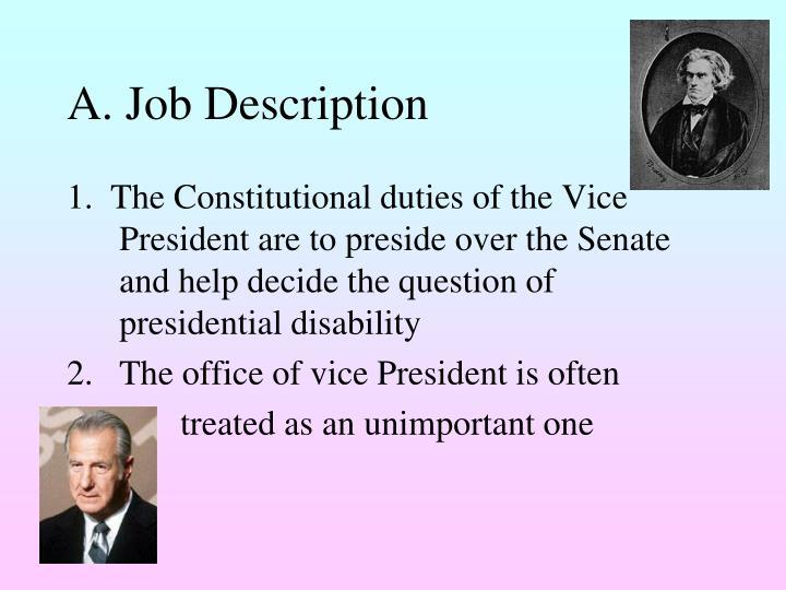 A. Job Description