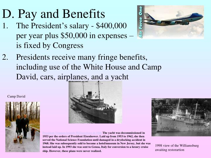 D. Pay and Benefits