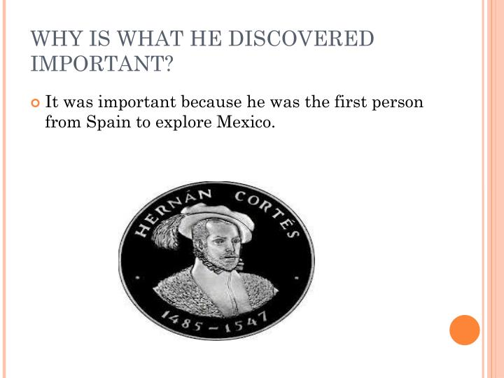 WHY IS WHAT HE DISCOVERED IMPORTANT?