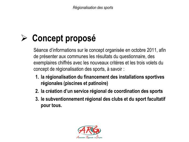 Régionalisation des sports