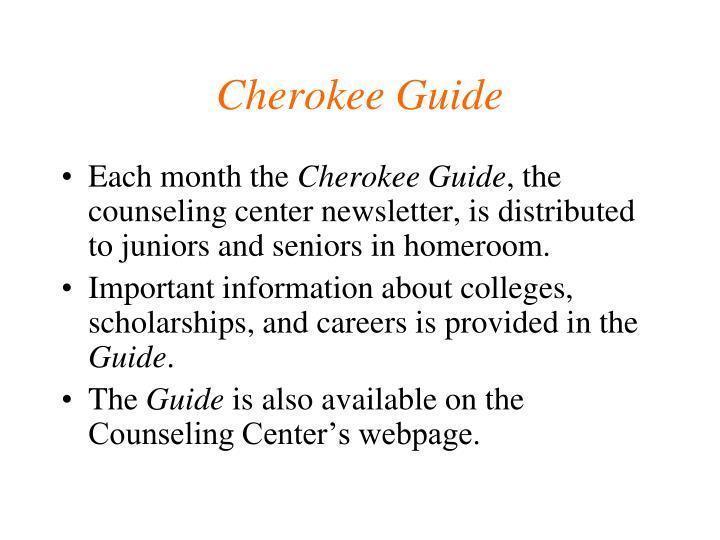 Cherokee Guide