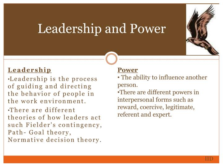 Leadership and Power