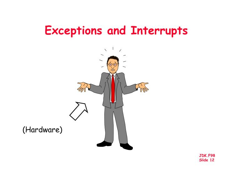 Exceptions and Interrupts