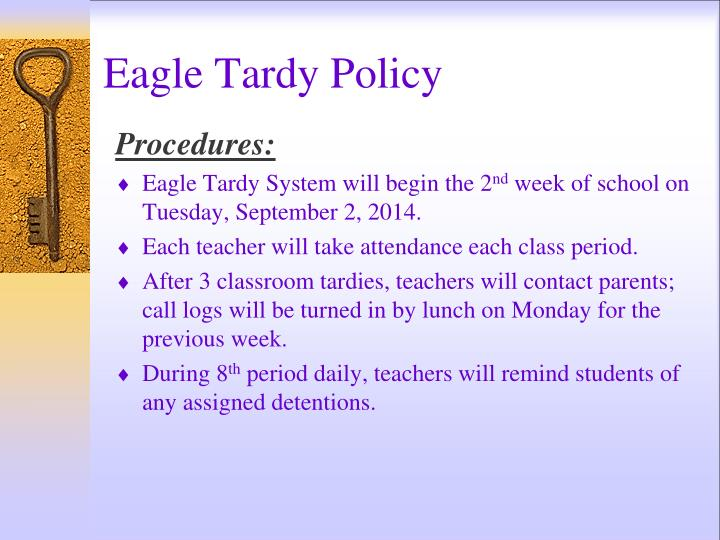Eagle Tardy Policy