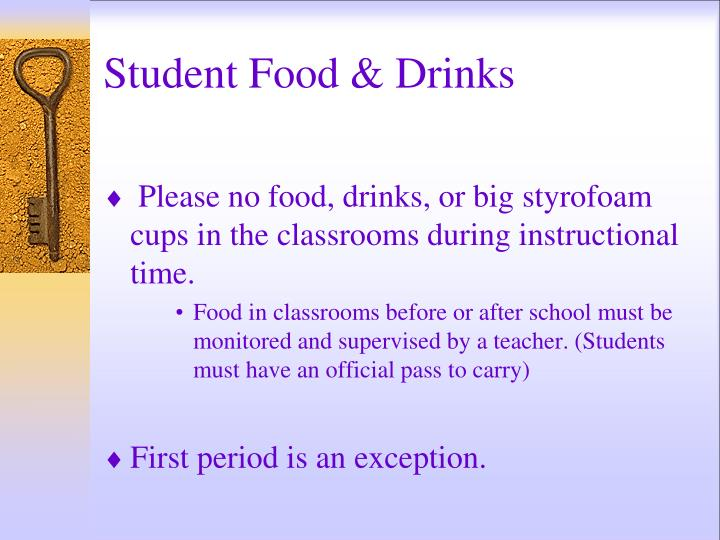 Student Food & Drinks