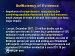 sufficiency of evidence1