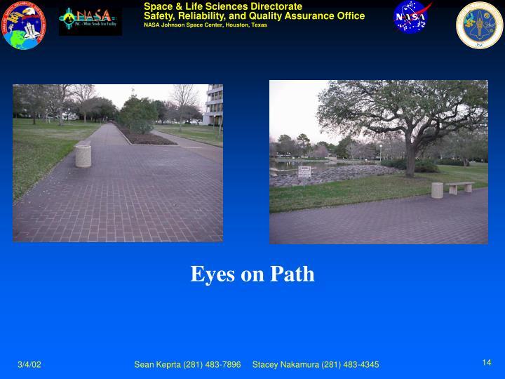 Eyes on Path