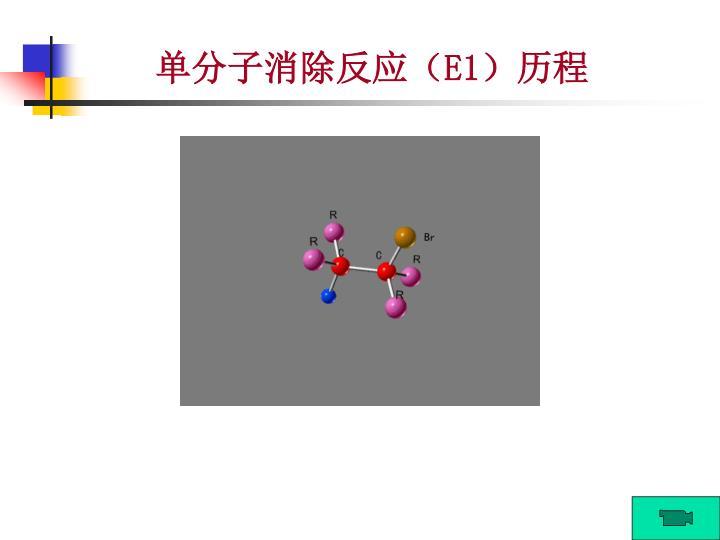 单分子消除反应(