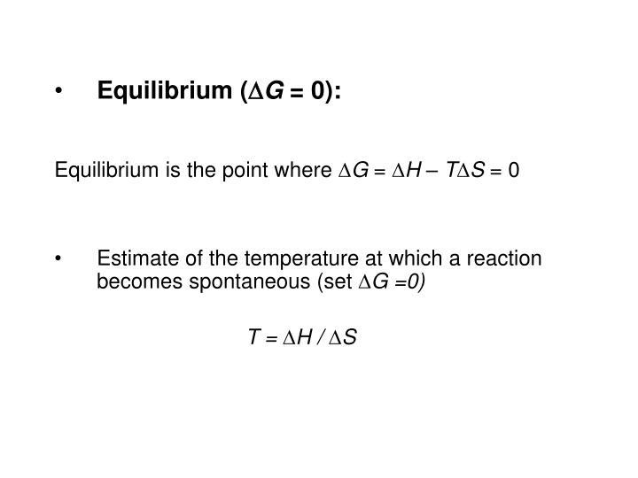 Equilibrium (