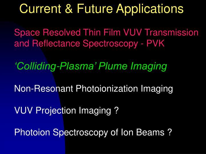Current & Future Applications