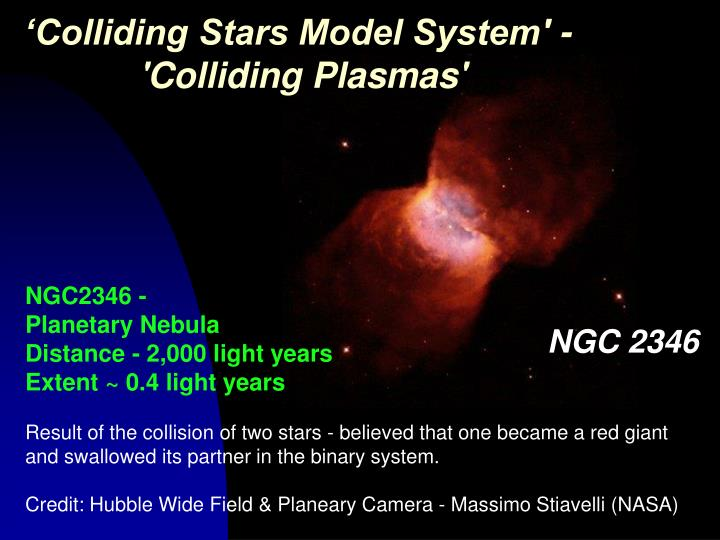 'Colliding Stars Model System' -