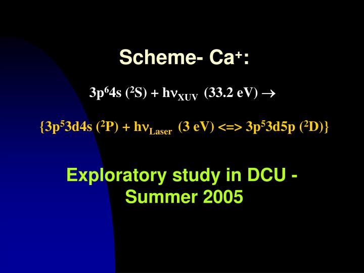 Scheme- Ca