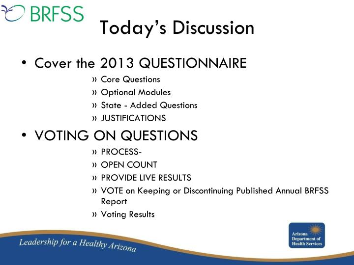 Cover the 2013 QUESTIONNAIRE