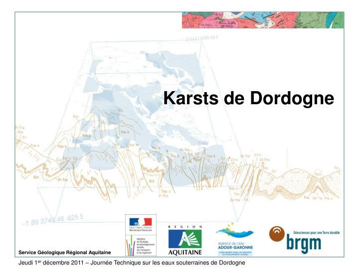 Karsts de Dordogne
