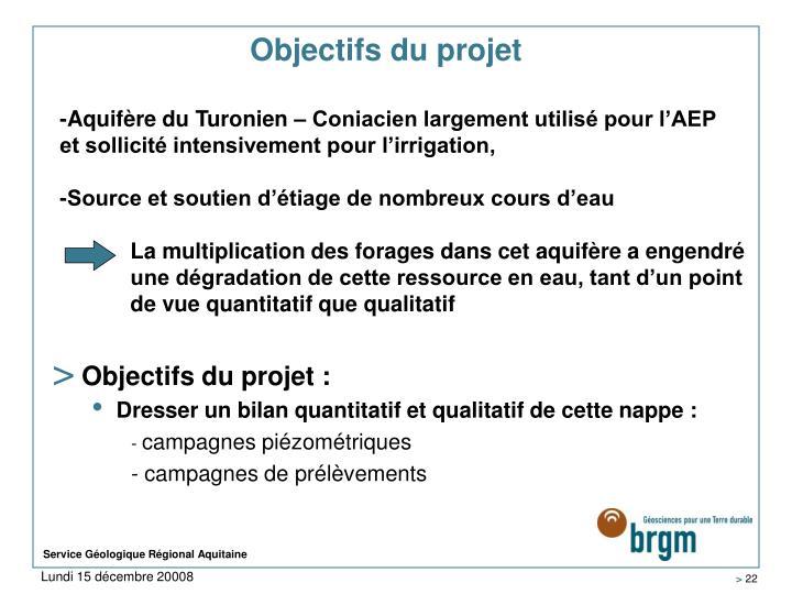 Objectifs du projet