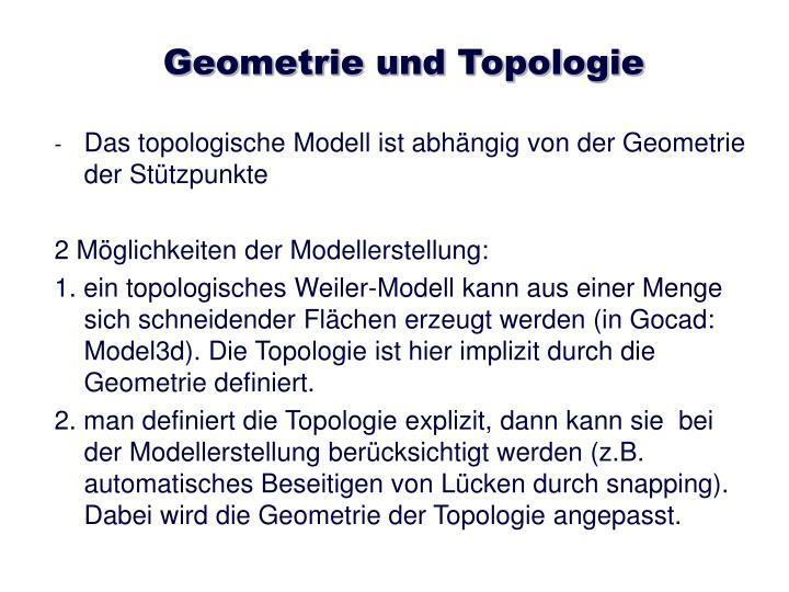 Geometrie und Topologie