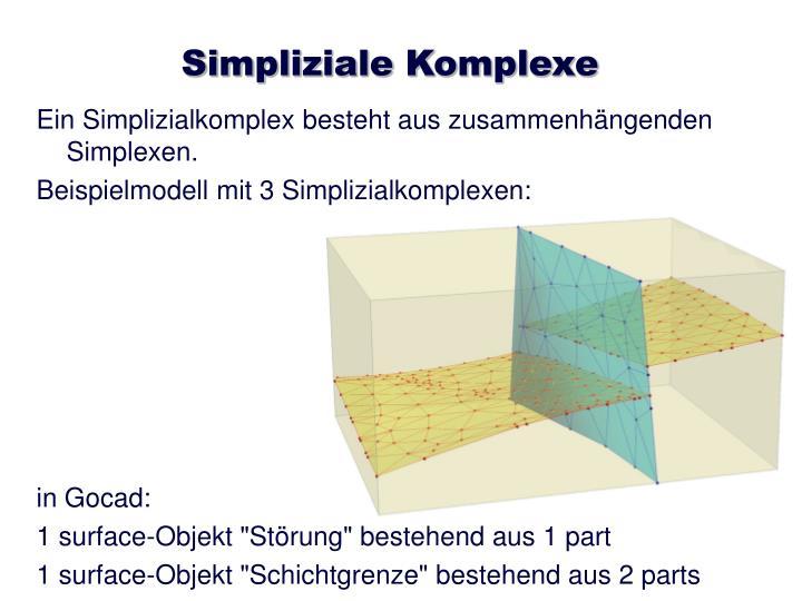 Simpliziale Komplexe