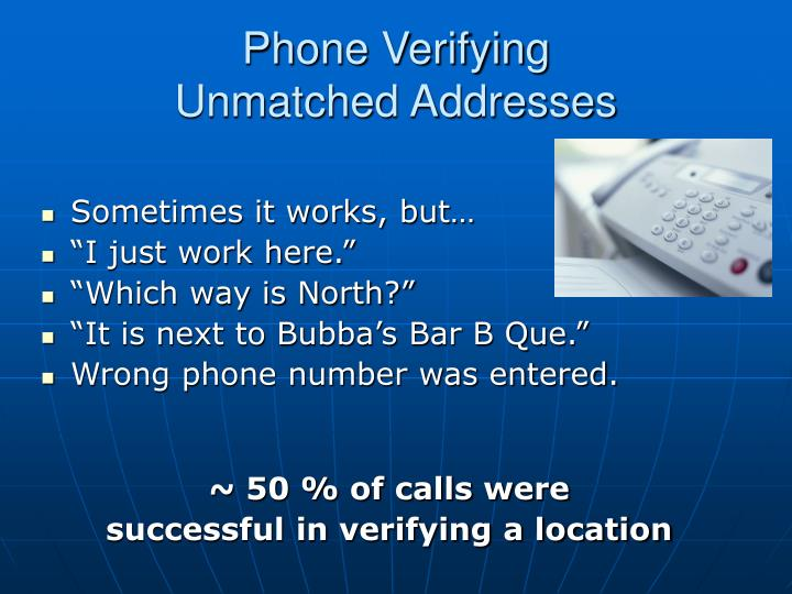 Phone Verifying