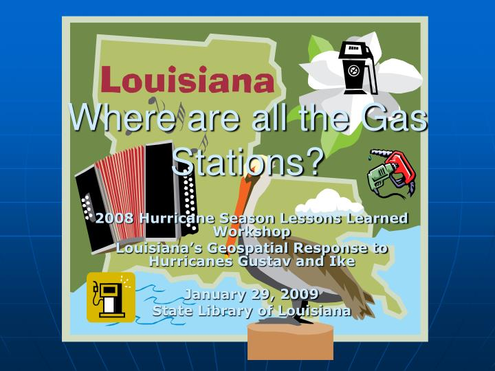 Where are all the Gas Stations?