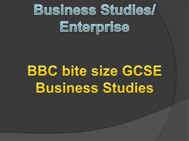 Business Studies/
