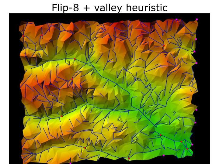 Flip-8 + valley heuristic