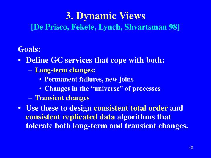 3. Dynamic Views