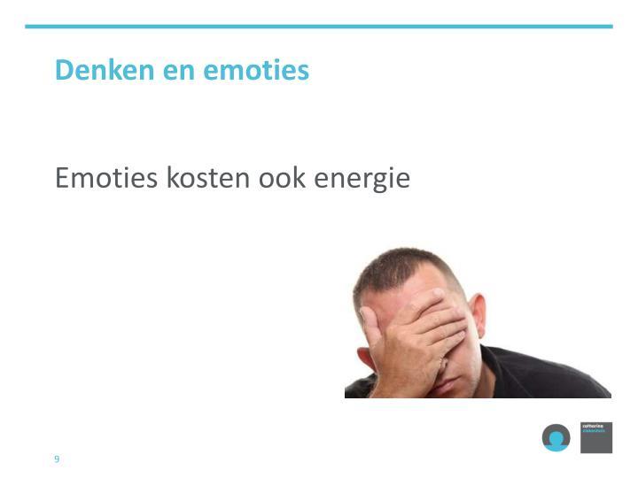 Denken en emoties