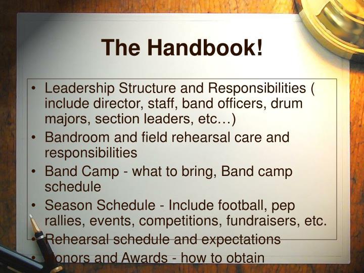 The Handbook!