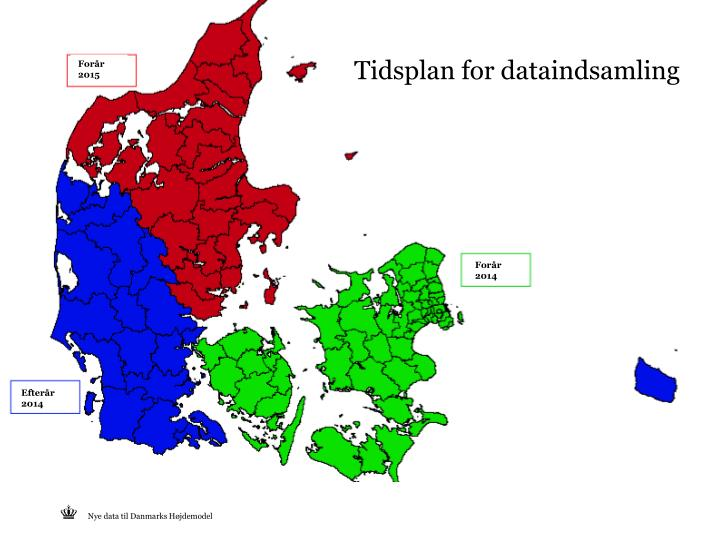 Tidsplan for dataindsamling