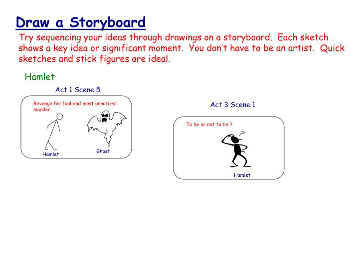 Draw a Storyboard