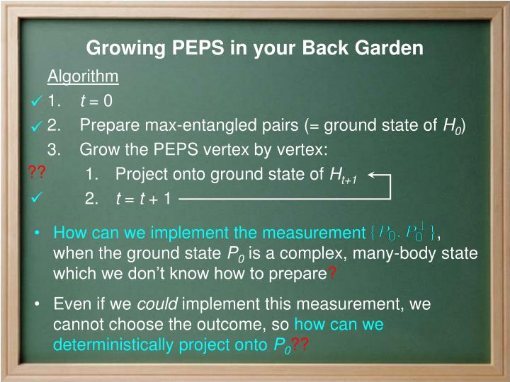 How can we implement the measurement