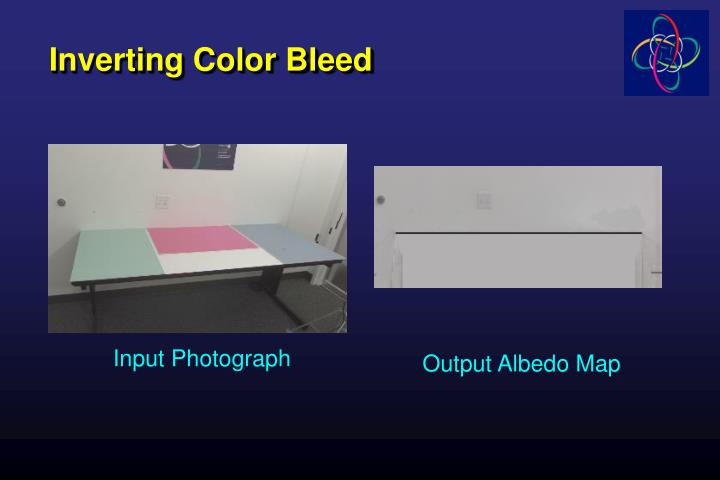 Inverting Color Bleed