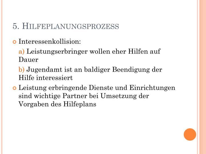 5. Hilfeplanungsprozess