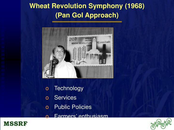 Wheat Revolution Symphony (1968)
