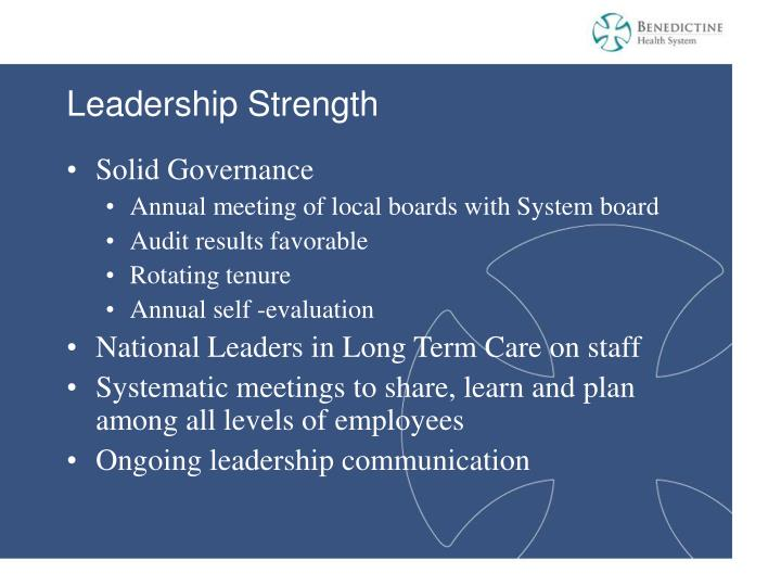 Leadership Strength