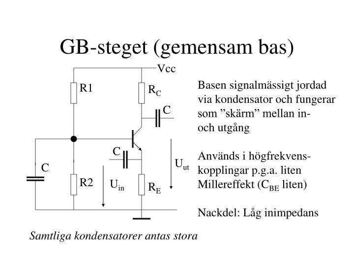 GB-steget (gemensam bas)