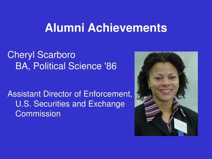 Alumni Achievements