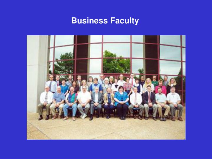 Business Faculty