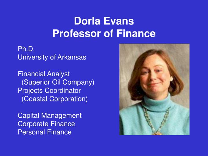 Dorla Evans