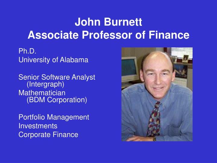John Burnett