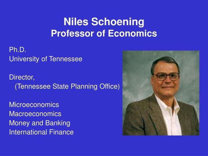 Niles Schoening