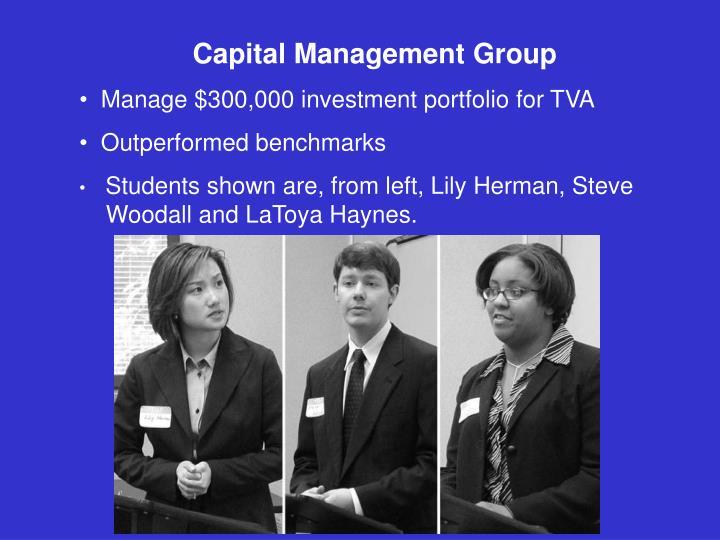 Capital Management Group