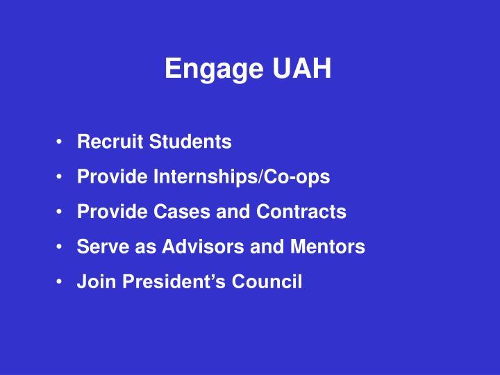 Engage UAH